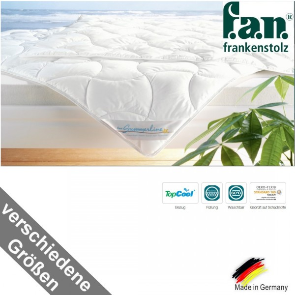 f.a.n. Summerline TopCool® Sommer Bettdecke