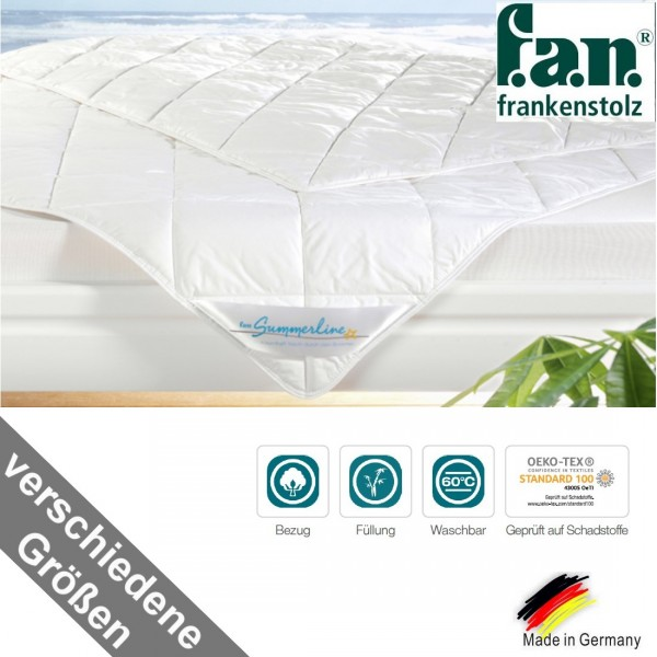 f.a.n. Summerline Bambus Sommer Bettdecke